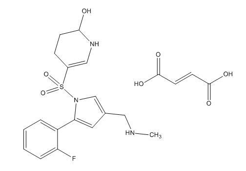 Vonoprazan Fumarate - A Potassium Competitive Acid Blocker